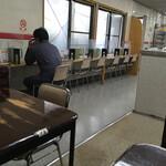 中華そば スエヒロ - 店内の風景