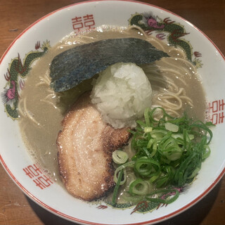 喜元門 - 料理写真:煮干強者 800円