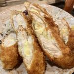 柳ばし - チーズささみフライ