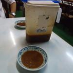 いこい食堂 - 料理写真:さすが焼きとん味噌ダレです。