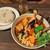 Rojiura Curry SAMURAI. - チキンハーフと豚角煮と野菜13品目のスープカレー1,518円、ご飯はプチプチの玄米入りMサイズ180g