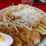 自家製麺 酉 - 刻みたまねぎをオン♥♡