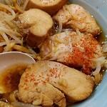 自家製麺 酉 - 鶏チャーシューが低温調理で柔らかくマィウー♥