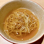 酒菜 ちゃぶ有 - 生姜のラーメン