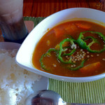 グリーン・グリーン - ミャンマー風スープカレー