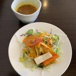 149245866 - サラダとスープ