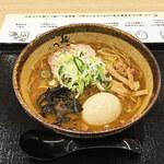 麺屋 つくし - 料理写真:味噌ラーメン+味玉トッピング