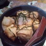 土間土間 - 餅入り揚げ出し豆腐 美味しい♪