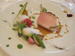 AMOUR - ミスト調理の豚さん