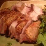 備前 長光 - 軍鶏の黒胡椒焼きハーフサイズ