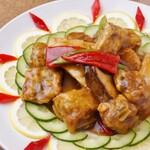 美味閣 - 油淋鶏(ユーリンチー)
