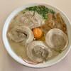丸幸ラーメンセンター - 料理写真:『満腹ラーメン生卵入』様(690円)