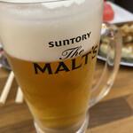 ガウでぃ - ビールはサン○リー