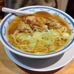 ラーメン 味鶏 - 若鶏の西京焼き中華そば