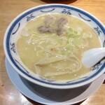 ラーメン 味鶏 - 特濃鶏白湯