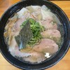 大阪麺哲 - 料理写真:■肉塩雲呑¥1500
