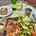149293575 - 若鶏のグリエ&白ワイン