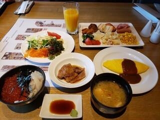 函館国際ホテル - 朝食バイキング2021.04.03