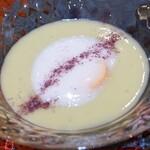149299258 - 春キャベツの冷製スープ