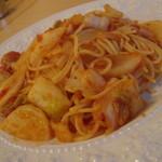 リストランテ Ciao - 野田産かぶとはくさいのトマトソース