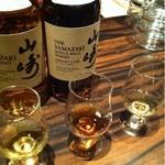 ワイズランドバーイアン - 山崎2012年 ミズナラ、シェリー、バーボン樽 飲み比べ。初日だけ格安。