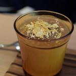 自然野菜レストラン 駒込 ナーリッシュ - 豆乳きな粉プリン