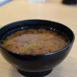 自然野菜レストラン 駒込 ナーリッシュ - 味噌汁お代わり自由(セルフ)