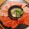 奥田 - 料理写真:牛刺し4種盛り