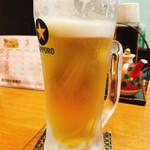 一粋 - 生ビール