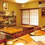 告膳 - カウンター6席 テーブル6席 座敷2~20名(個室)
