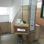 Mole & hosoi coffees - 2012.9.15 この階段を降りたところにある。