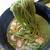 伊藤久右衛門 - 伊藤久右衛門本店で、宇治抹茶カレーうどん(990円)、[お土産,宇治抹茶カレー(レトルト)2個,スイーツ4点]。2970円。20210409