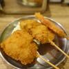 kushikatsunonakamuraya - 料理写真: 串カツ(豚・鶏もも・厚切りハム)
