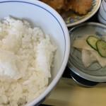 一源 - ご飯