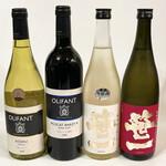 笹一酒造 酒遊館 - 今回買ったワインと日本酒