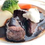 トレインレストラン日本食堂 - 料理写真:ビーフシチュー