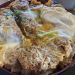 とんかつくら島 - 料理写真:上カツ丼¥1550