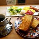 CAFE&BAKERY MIYABI - モーニング コンチネンタル: