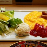 CAFE&BAKERY MIYABI - モーニングコンチネンタル