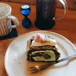 ARCH SHORENJI - 抹茶のケーキとコーヒー