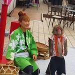 春木屋 - 日光猿軍団が興行してました。