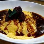 レストラン ラ・シード - 料理写真:和牛シチューオムライス