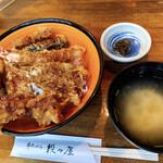 串天ぷら 段々屋 - B天丼(かしわトッピング)セット