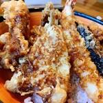 串天ぷら 段々屋 - 拡大