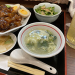 149347413 - 玉子スープ。                         美味し。