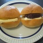 バックハウス・イリエ - 栗あんバターとあんバター