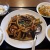豫園飯店 - 料理写真:ナスの四川風辛子炒め 大盛り食事セット