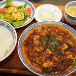 Sawadahanten - 麻婆豆腐セット