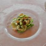 ヴェッキアランテルナ - 前菜:タコのカルパッチョ