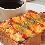 はしもと珈琲館 - 料理写真:ピザトースト